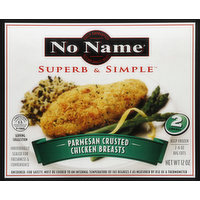 No Name Chicken Breasts, Parmesan Crusted, 2 Each