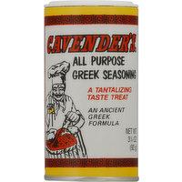 Cavender's Seasoning, Greek, All Purpose, 3.25 Ounce