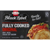 Hormel Bacon, Fully Cooked, Original, 2.52 Ounce