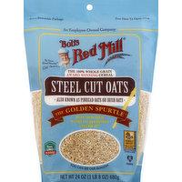 Bob's Red Mill Oats, Steel Cuts, 24 Ounce
