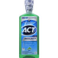 ACT Fluoride Mouthwash, Anticavity  Mint, 18 Ounce
