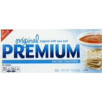 Premium Crackers, Saltine, Original, 1 Pound