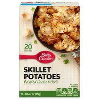 Betty Crocker Skillet Potatoes, Roasted Garlic & Herb, 4.2 Ounce