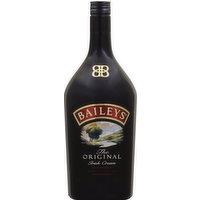 Baileys Liqueur, Irish Cream, The Original, 1.75 Litre