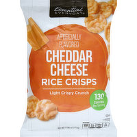 Essential Everyday Rice Crisps, Cheddar Cheese, 6.06 Ounce