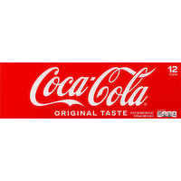Coca-Cola Cola, Original Taste, Fridge Pack, 12 Each