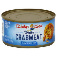 Chicken of the Sea Crabmeat, White, 6 Ounce