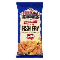 Louisiana Fish Fry Products Seafood Breading Mix, Fish Fry, Seasoned, 10 Ounce