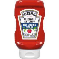 Heinz Tomato Ketchup, No Sugar Added, 13 Ounce