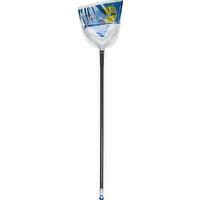 Clorox Broom & Dustpan, Angle, Firm Bristled, 1 Each