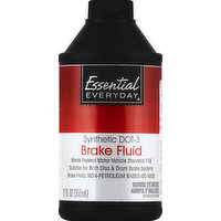 Essential Everyday Brake Fluid, Synthetic DOT-3, 12 Ounce