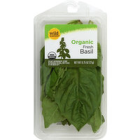 Wild Harvest Basil, Organic, Fresh, 0.75 Ounce