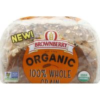 Brownberry Bread, Organic, 100% Whole Grain, 765 Gram