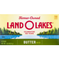 Land O Lakes Butter, Salted, 4 Each