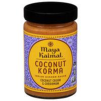 Maya Kaimal Indian Simmer Sauce, Coconut Korma, Mild, 12.5 Ounce