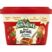 Chef Boyardee Beef Ravioli, in Tomato & Meat Sauce, 7.5 Ounce