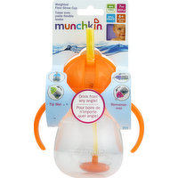 Munchkin Cup, Weighted Flexi-Straw, 7 Ounces, 1 Each
