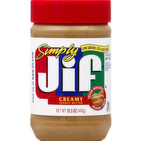 Jif Peanut Butter, Creamy, 15.5 Ounce