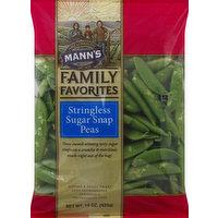 Mann's Sugar Snap Peas, Stringless, 15 Ounce