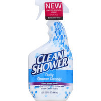 Clean Shower Shower Cleaner, Daily, Fresh Clean Scent, 32 Ounce