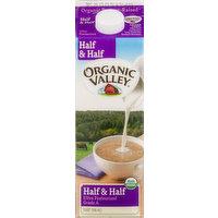 Organic Valley Organic Valley Half & Half, 1 Quart