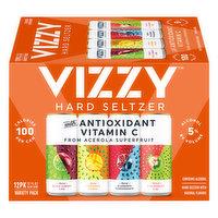 Vizzy Hard Seltzer, Variety Pack, 12 Pack, 12 Each