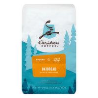 Caribou Coffee Coffee, Ground, Light Roast, Daybreak, 20 Ounce