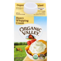 Organic Valley Whipping Cream, Heavy, 1 Pint