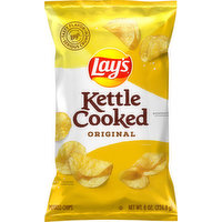 Lay's Potato Chips, Original, Kettled Cooked, 8 Ounce