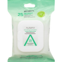 Almay Cleansing Towelettes, Clear Complexion, 25 Each