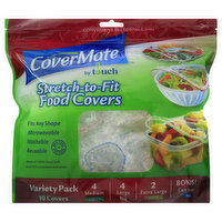 CoverMate Food Covers, Stretch-to-Fit, 1 Each