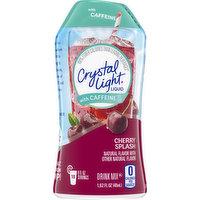 Crystal Light Drink Mix, Cherry Splash, Liquid, 1.62 Fluid ounce