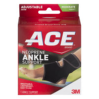 ACE ACE Neoprene Ankle Support Moderate Support, 1 Each