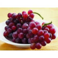 Fresh Red Seedless Grapes, 1 Pound