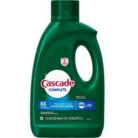 Cascade Complete Gel Dishwasher Detergent, 75 Ounce