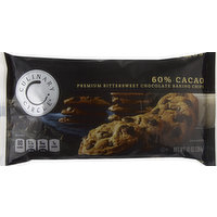 Culinary Circle Baking Chips, Premium, Bittersweet Chocolate, 10 Ounce