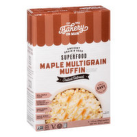 Bakery on Main Instant Oatmeal, Maple Multigrain Muffin, Superfood, 6 Each