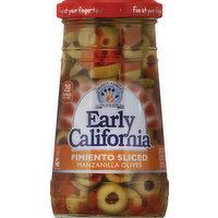 Early California Olives, Manzanilla, Pimiento Sliced, 5.75 Ounce