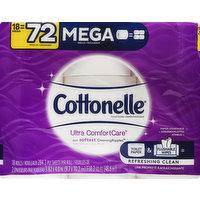 Cottonelle Toilet Paper, Mega Rolls, 2-Ply, 18 Each