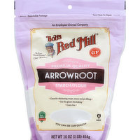 Bob's Red Mill Starch/Flour, Arrowroot, 16 Ounce