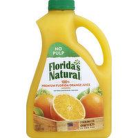 Florida's Natural 100% Juice, Orange, No Pulp, 89 Ounce
