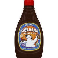 Ah Laska Chocolate Syrup, Organic, 22 Ounce