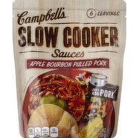 CAMPBELLS Slow Cooker Sauces, Apple Bourbon Pulled Pork, 13 Ounce