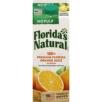 Florida's Natural Orange Juice, No Pulp, 52 Ounce