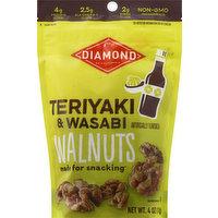 Diamond Walnuts, Teriyaki & Wasabi, 4 Ounce