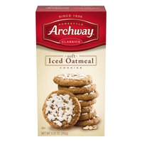 Archway Cookies, Iced Oatmeal, Soft, 9.25 Ounce