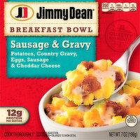 Jimmy Dean Breakfast Bowl, Sausage & Gravy, 7 Ounce