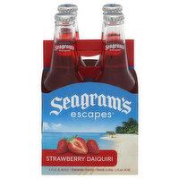 Seagrams Escapes Malt Beverage, Premium, Strawberry Daiquiri, 4 Pack, 4 Each