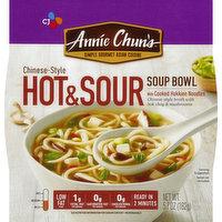 Annie Chun's Soup Bowl, Hot & Sour, Chinese-Style, Medium, 5.7 Ounce