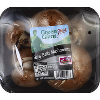 Green Giant Mushrooms, Baby Bella, 8 Ounce